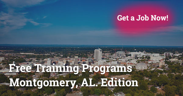 Free Training Programs in Montgomery, AL