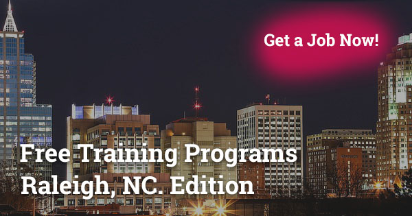 Free Training Program in Raleigh, NC