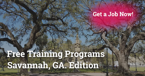 Free Training Programs in Savannah, GA