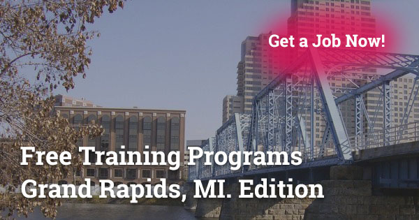 Free Training Programs in Grand Rapids, MI
