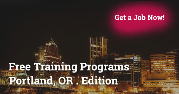 Free Training Programs in Portland, OR