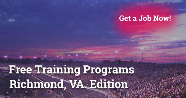 Free Training Programs in Richmond, VA