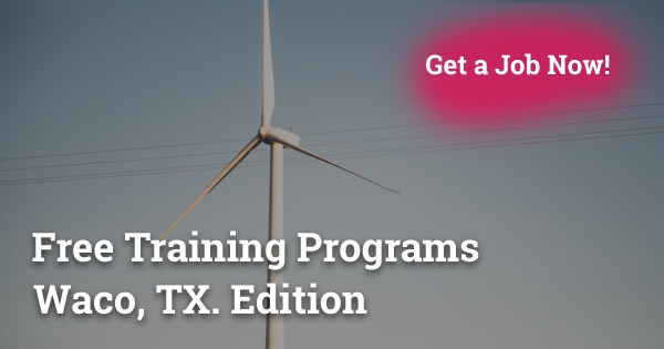 Free Training Programs in Waco, TX