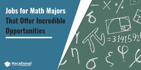 Jobs for Math Majors