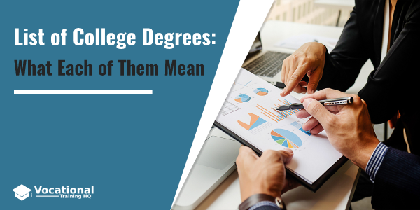 College Degrees: Ultimate List and Guide