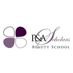 P&A Scholars Beauty School logo