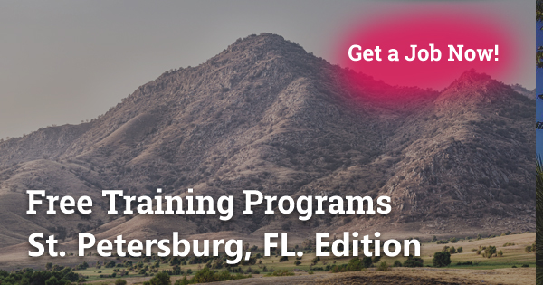 Free Training Programs in St. Petersburg, FL