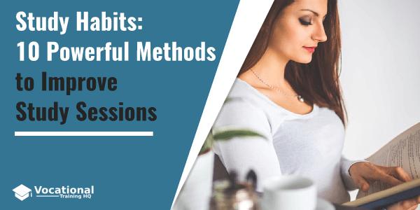study habits methods