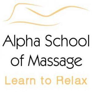 Alpha School of Massage logo