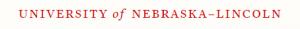 University of Nebraska - Lincoln logo